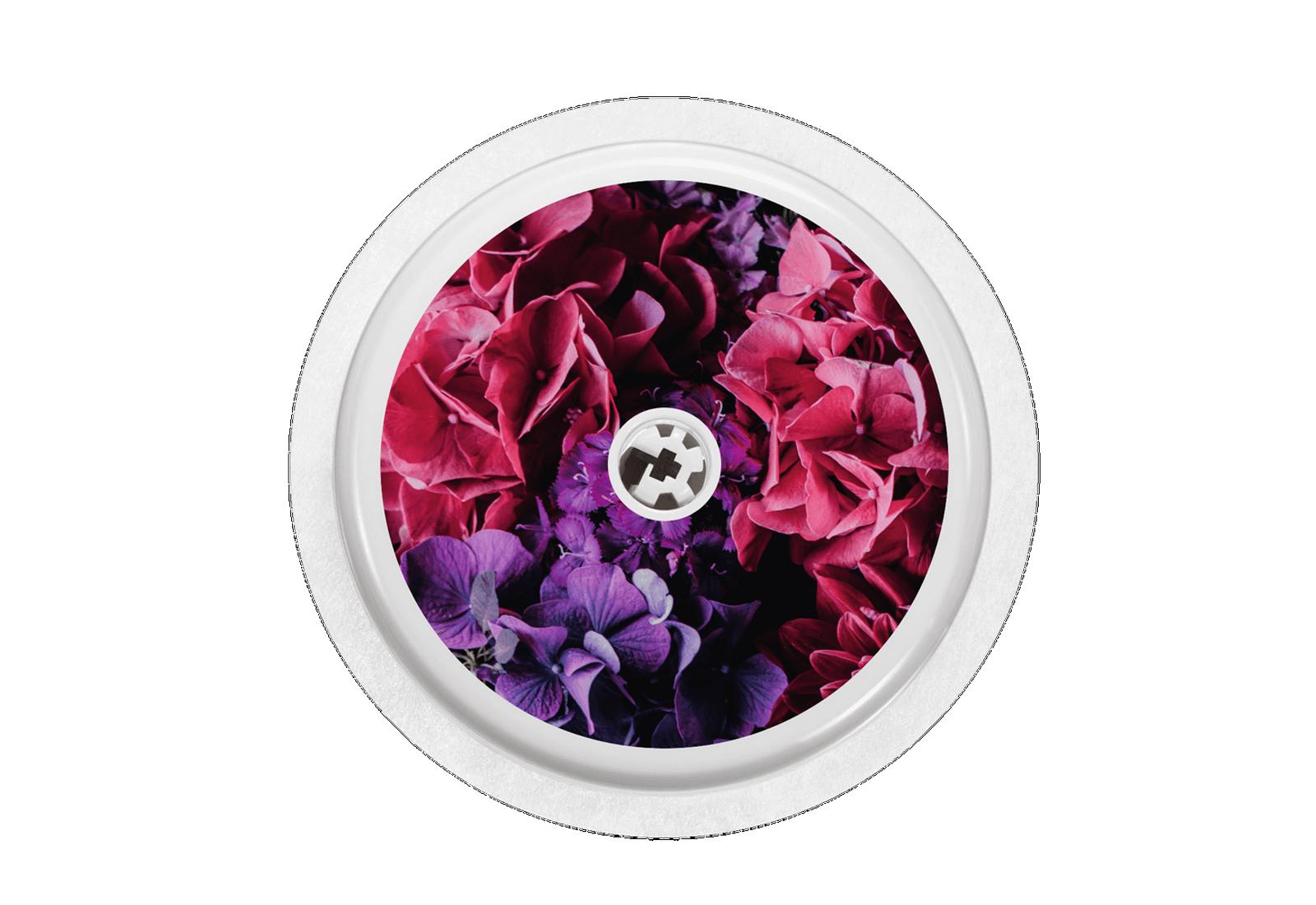 Hydrangea Blüten Freestyle Libre Sticker Sensor
